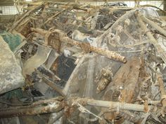 Restoring salvaged WW2 aircraft at the Hellenic Air Force Museum