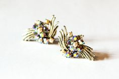 Hey, I found this really awesome Etsy listing at https://www.etsy.com/listing/233101741/set-of-glamorous-gold-and-rhinestone