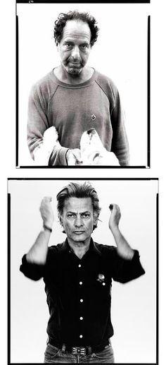 Portrait — Self-portrait : Robert Frank — Richard Avedon