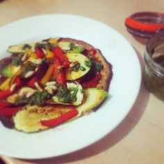 The best wheat and dairy free pizza by www.thewannabecook.com #healthy #paleo Dairy Free Pizza, Ratatouille, Vegetable Pizza, Food Inspiration, Paleo, Good Things, Healthy, Ethnic Recipes, Beach Wrap