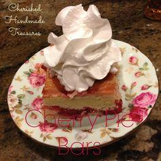 Cherry Pie Bars_Cherished Handmade Treasures