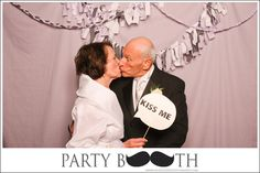 I like the thought bubble in the photo booth idea