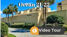 Ocean Condos in Jacksonville Beach are two condo towers sharing a pool. The buildings are 6 floors highand have condos ranging in size from to Beach Video, Jacksonville Beach, Condos, Videos, 21st, Tower, Ocean, Building, Pictures