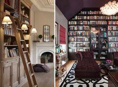 home office com biblioteca - Pesquisa Google