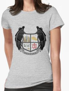 Destiel coat of arms Womens Fitted T-Shirt