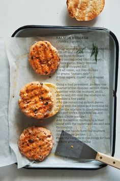 Salmon burgers ( no capers for me though and who knows where I can locally buy chili paste thinking tomato paste with some chili powder will have to do!)