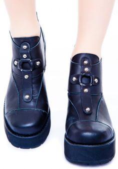 UNIF Lost Sole Boot | Dolls Kill
