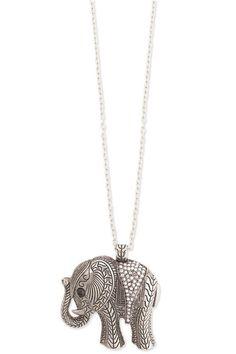 Elephant pendant.... LOVE IT