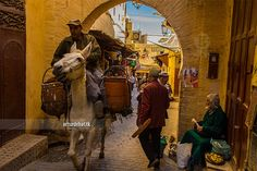 Morocco.  FOR SALE ON GETTY IMAGES    Check it out my Portfolio:  GETTY IMAGES Maybe you like this: / Facebook / 500px  Fes or Fez (Arabic: فاس, Moroccan Arabic [fɛs], Berber: Fas, ⴼⴰⵙ) is the third largest city of Morocco, with a population of approximately 1 million (2010). It is the capital of the Fès-Boulemane region. The city has two old medinas, the larger of which is Fes el Bali. It is listed as a UNESCO World Heritage Site and is believed to be one of the world's largest car-free…