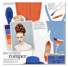 """Day To Night: Rompers II"" by anna-anica ❤ liked on Polyvore featuring Alice + Olivia, Miss Selfridge, bleu, Puma, Juvia, Disney, Maison Michel, Manolo Blahnik, Sara Battaglia and Rimmel"