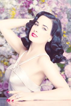 40s 50s burlesque busty belle