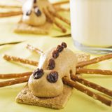 Peanut Butter Spiders  recipe