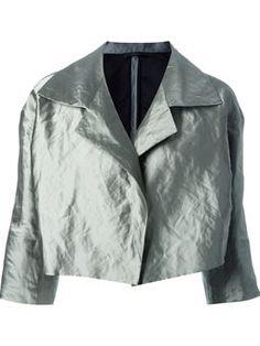 metallic wide lapel jacket $875 #Farfetch #relevant #ShoppingSale