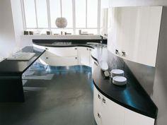 Luxusné Oblé kuchyne - STUDIO.IT Corner Desk, Studio, Furniture, Home Decor, Kitchen, Corner Table, Decoration Home, Room Decor, Studios