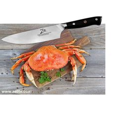 You need a solid Chef Knife to cut through Crab - click our BIO to understand why the ZELITE Infinity is manned up for the job... by zelite.infinity
