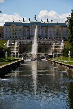 Peterhof Palace - St Petersburg, Russia