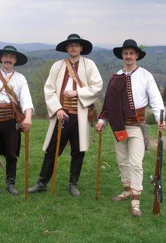 Portáši - Valašský kroj, Moravian Wallachian folk costume, Czech republic