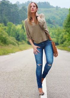 Leopard stilettos | Looks and shoes