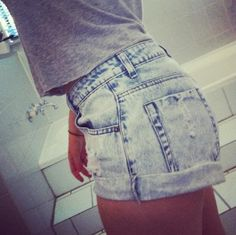 This is how jean shorts are meant to look.