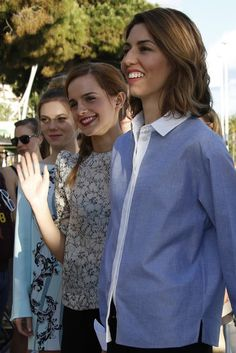 """Emma Watson and Sofia Coppola promoted """"The Bling Ring"""" at 2013 Cannes Film Festival"""