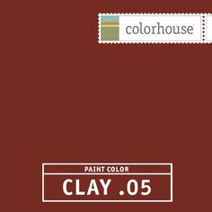 Colorhouse Clay 05 The Perfect Red A Clic We Worked Hard To