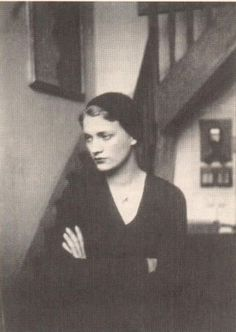 Lee Miller in Man Ray's Rue Campagne Premiere studio, 1929.