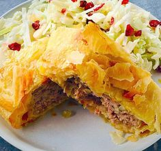 Sausage Rolls with Apple & Yoghurt Salad recipe – All 4 Women Healthy Family Meals, Healthy Snacks, Homemade Sausage Rolls, Pork Mince, Cranberry Salad, Salad Ingredients, Light Recipes, Tray Bakes, Salad Recipes