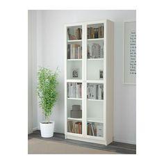 BILLY / OXBERG Librería - blanco, 80x202x30 cm - IKEA
