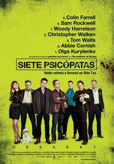 Reino Unido Seven Psychopaths (Martin McDonagh, 2012) - Patio de Butacas
