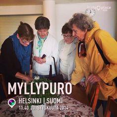 Myllypuro-päivänä 20.9.14 esittelimme Hely ry:tä, projektia ja Eloisa ikä-ohjelmaa. Tablettikin herätti kiinnostusta.