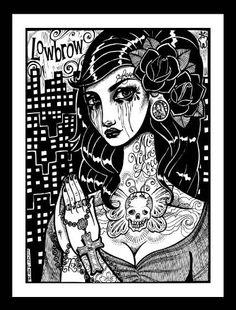 Lowbrow Art Whitney Lennox Ruca