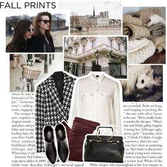 """fall prints"" by myduza-and-koteczka on Polyvore"