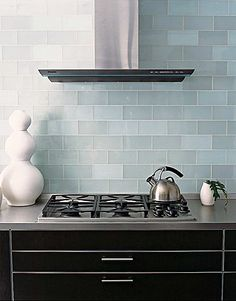 frosted ocean glass subway tile 3x6! Found at http://www.subwaytileoutlet.com/