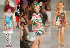 Desigual Cirque de Soliel Themed Runway Show Fashion Design For Kids, Kids Fashion, Children's Boutique, Laguna Beach, Little Miss, Kids Outfits, Runway, Bows, Competition