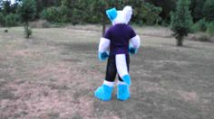 Prosthetic Tail Demo! In Fursuit!