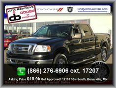 2008 Ford F-150 XLT Pickup  Plastic/Rubber Shift Knob Trim, Front Split-Bench, Tachometer, In-Dash Single Cd Player, Passenger And Rear, Split Rear Bench, Coil Front Spring, Speed Sensitive Audio Volume Control, Rear Shoulder Room: 65.8, 4-Wheel Abs Brakes, Front Suspension Stabilizer Bar, Privacy Glass: Deep, Am/Fm/Satellite-Capable Radio, Front Hip Room: 63.8, Left Rear Passenger Door Type: Conventional, Overall Width: 78.9, Rear Hip Room: 63.1, Headlights Off Auto Delay
