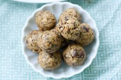 Peanut Butter Chocolate Chip Chia Bites : Oven Love