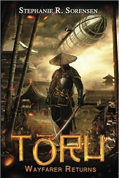 Toru Wayfarer Returns by Stephanie R. Sorensen is a great Steampunk novel that takes place in Japan of the mid 19th centur;, a fun, alternate history with flying machines!