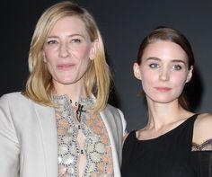 Cate Blanchett and Rooney Mara at the Santa Barbara Film Festival