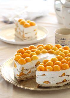 Gâteau aux petits beurre mascarpone et mangue5