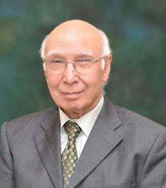 India Warns Sartaj Aziz Against Meeting Hurriyat L...