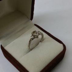 Ring Silber 925 Kristallsteinchen Vintage SR640 von Schmuckbaron