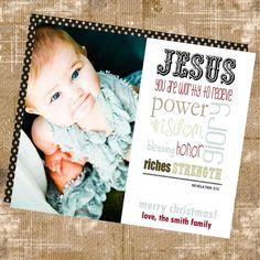 christmas card, custom jpeg $10 etsy TillyClaires