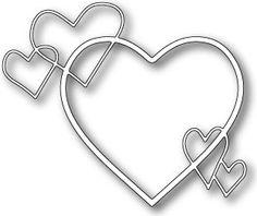 Memory Box - Dies - Heart Ensemble