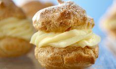 Pastry Cream (Vanilla Custard Filling) - Incredible Egg  INGREDIENTS  3EGG YOLKS 3cups milk 1/2cup sugar 1/3cup cornstarch 1/4tsp. salt 3/4tsp. vanilla Yields: 3 Servings
