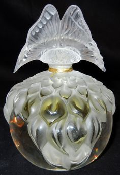 Lalique Perfume Bottle, Falcon Collection