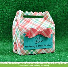 the Lawn Fawn blog: Back to School Teacher Gifts with Ivy!