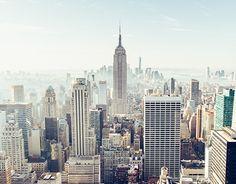Streets of New York City. December 2014.