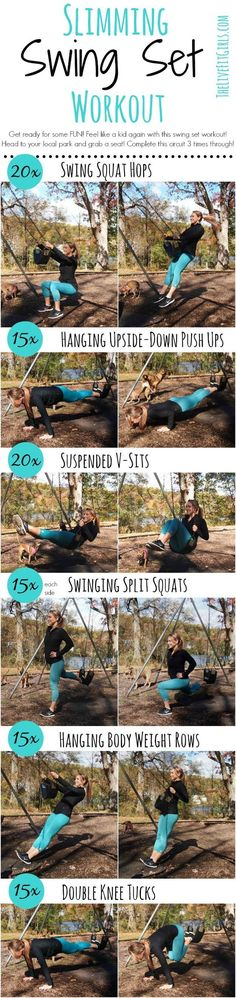 And for when you want to take your workout to a local park: | 18 Quick Workouts That'll Help You Exercise Pretty Much Anywhere