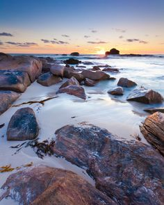 Admire the sunset over the Indian Ocean from Margaret River in Western Australia. Wave Rock, Water Element, Down South, Tahiti, Western Australia, The Places Youll Go, Westerns, Coastal